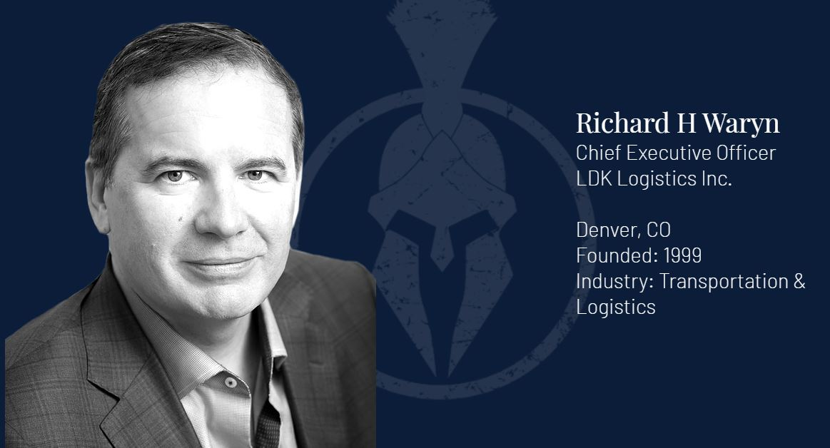 Richard Waryn Featured in the Titan 100 - Recognizing Colorado's Top 100 CEO's and C-level executives